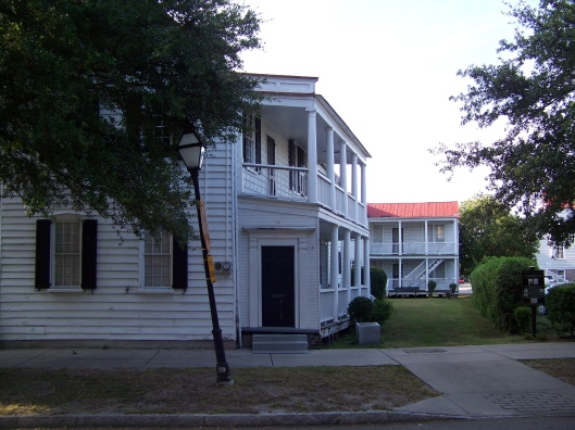"A ""single house"" in Charleston."