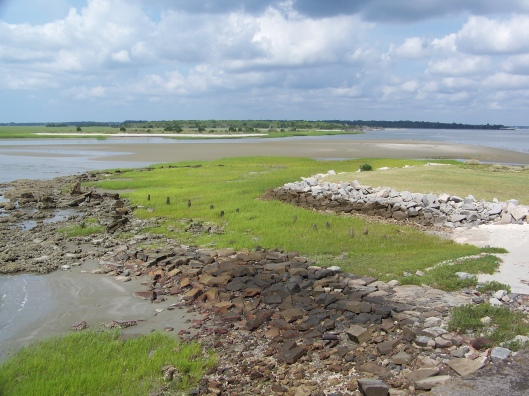 A view of the Lowcountry from Fort Sumter.