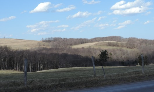 The Laurel Highlands in Pennsylvania.