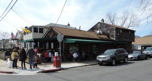 Crab Pretzels at Davis Pub in Annapolis.