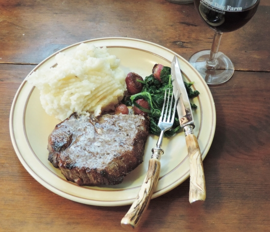 Buttery Broiled Steak