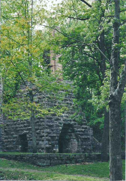 The furnace an important role in the manufacture of iron at Maramec Iron Works. It still stands in the park today.