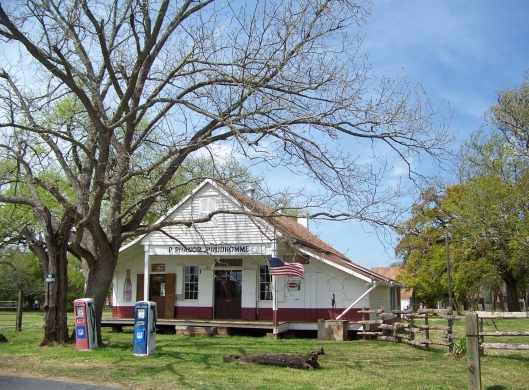 The plantation store was built before the Civil War. After the was it served customers as a retail outlet, a bank, a source for credit, and a place to gather to discuss current events.
