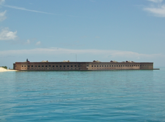 Fort Jefferson on Garden Key in the Dry Tortugas