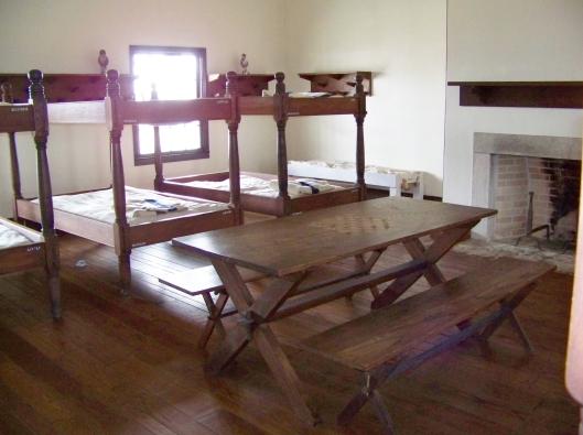 Dragoon barracks at Fort Scott.