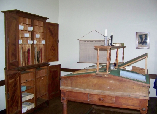 The Quartermaster's office at Fort Scott