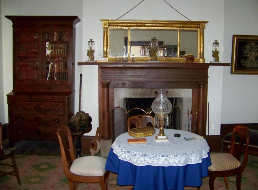 A look at the Officer's Quarters at Fort Scott
