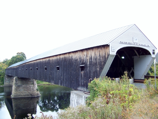 This covered bridge takes you from Vermont into New Hampshire.