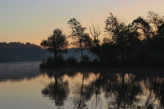 Sunrise at Petit Jean State Park