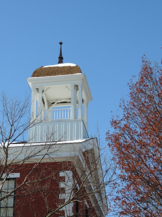 The cupola on the Old Courthouse.