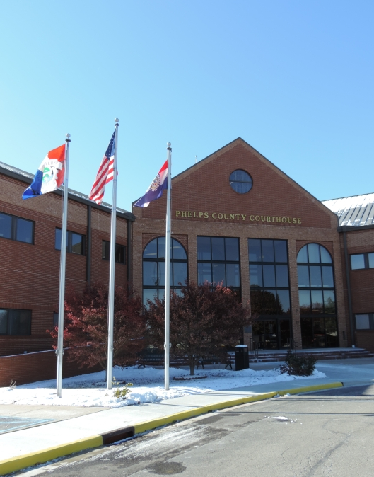 The Phelps County Courthouse