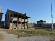 The Officer's Quarters at Fort Osage.
