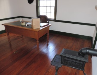 The study where Grant would conduct his business affairs.