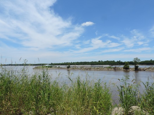 The Mississippi River at Trail of Tears State Park