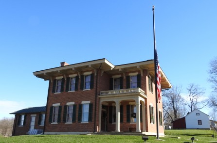 The Ulysses S. Grant home in Galena, IL