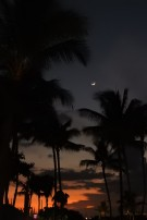 Moonlight over Oahu