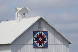 Barn quilts are very popular all over America